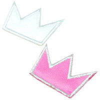 crown patch applique-Ps unique applique