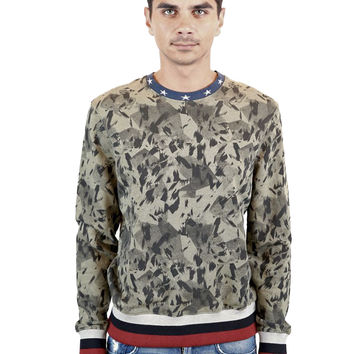 JOKER All-Over Graphic Sweatshirt
