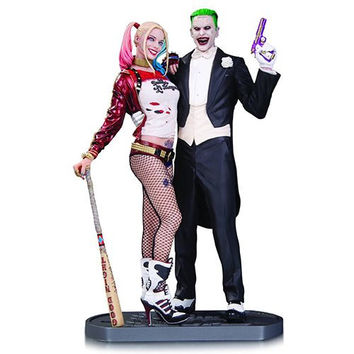 SUICIDE SQUAD - JOKER AND HARLEY QUINN STATUE