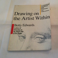 Drawing On The Artist Within Vintage Book Fine Art Masters Drawings Figure Drawing Education How To Creativity