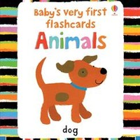 Usborne Books & More. Baby's Very First Flashcards Animals