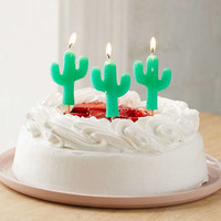 Sunnylife Cactus Party Candle Set | Urban Outfitters