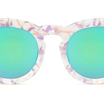 DIME - PINK PEARL +  BLUE MIRROR + POLARIZED