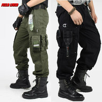 men's cargo Pants millitary clothing Tactical Pants Military knee pads Men Outdoor Camouflage army style camo workwear Trousers
