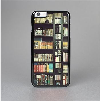 The Vintage Bookcase V2 Skin-Sert for the Apple iPhone 6 Plus Skin-Sert Case