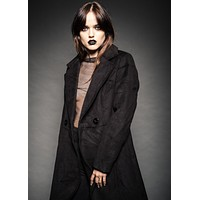 Black Rose Vintage Inspired Coat