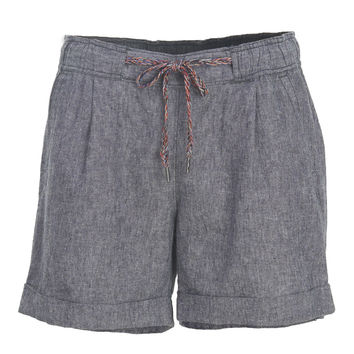 Women's Outside Air Eco Rich Linen Blend Shorts