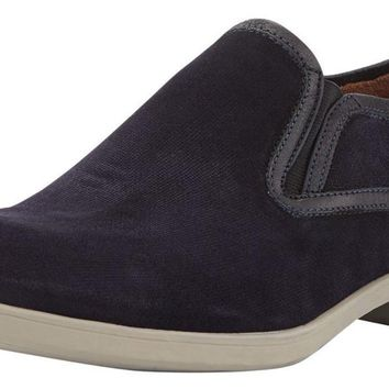 JOHN VARVATOS Dylan Sidegore Midnight Suede Loafers