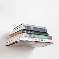 Invisible Book Shelf- Silver One