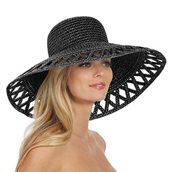 Eric Javits Women's Luxury Headwear Maribel Hat Black