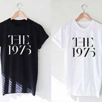 The 1975 Shirt Rock Band Music T-Shirt Unisex Clothing Size S,M,L,XL #1