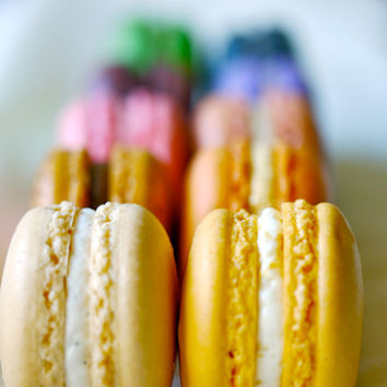 24 Assorted Regular French Macarons Perfect by sparkleskitchen