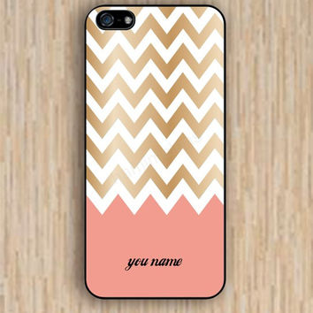 iPhone 4s case custom golden chevron pink chevron iphone case,ipod case,samsung galaxy case available plastic rubber case waterproof B021