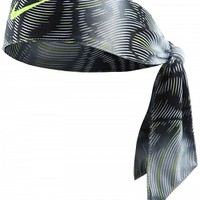Nike Dri-Fit Head Tie Black/Volt