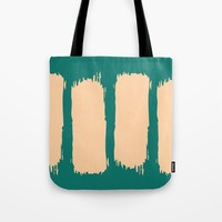 Emerald Forest Tote Bag by spaceandlines