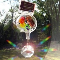 Solar Powered Rainbow Maker