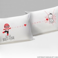 Captured by Your Love™ His & Hers Couple Pillowcase Set