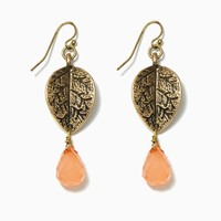 Dripping Leaves Earrings | Fashion Jewelry - Abbey Road | charming charlie