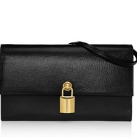 Padlock Mini Bag With Leather Shoulder Strap