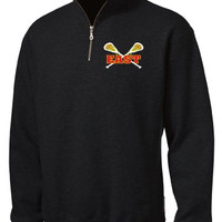 Williamsville East Womens Lacrosse Unisex Sport-Tek® Mens 1/4-Zip Sweatshirt