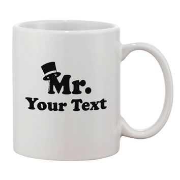 Personalized Mr Classy Printed 11oz Coffee Mug by TooLoud