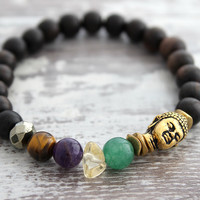 Buddha Money Bracelet, Wealth Success Prosperity Bracelet, Abundance Meditation Good Luck Bracelet, Good Luck Jewelry, Yoga Gifts Under 40