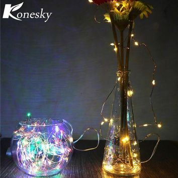 NOVO5 3m LED  Copper  Wire String Light with  Stopper for Glass Craft Bottle Fairy Valentines Wedding Decoration Lamp