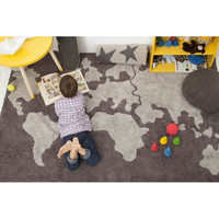 Wall decals quotes vinyl sticker decal from amazon kids boys world map cotton rug gumiabroncs Choice Image