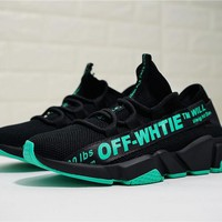 OFF-White Speed stretch-knit Sock Trainer OF8524-03 Size 36-44
