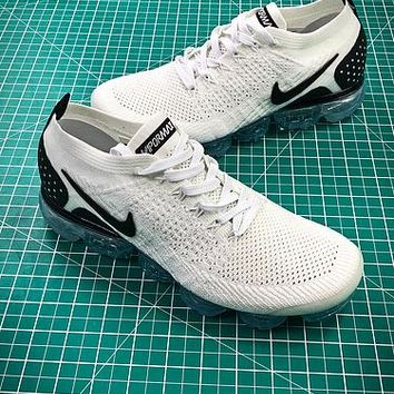 Nike Air Vapormax 2.0 White Black 942842-103 Sport Running Shoes - Best Online Sale