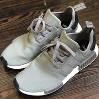 Beauty Ticks Adidas Nmd R1 Boost Olive Green Ba7249 12.5 Ultra Runner Trace Cargo