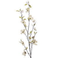 Faux Canvas Dogwood Flower Branch