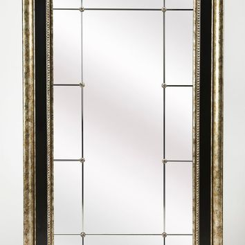 Butler Myron Antique Pewter Full Length Mirror