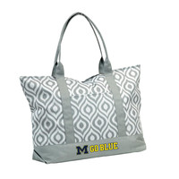 Michigan Wolverines NCAA Ikat Tote