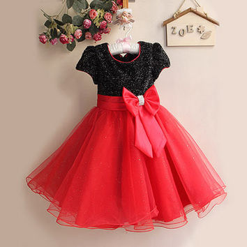 Summer Baby Girl Dress Toddler Girl Clothing Children Bridesmaid Costume Infant Party Pageant dresses for little girls wedding