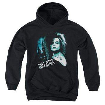 Harry Potter - Bellatrix Closeup Youth Pull Over Hoodie