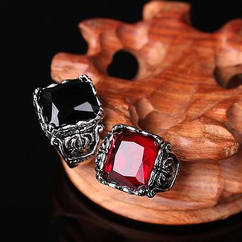 Gothic Crown Rings Vintage Style Fashion Jewelry For Men Woman   Jewelry  bijoux