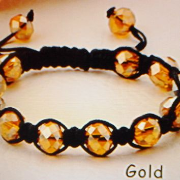 Stylish Color Gold Bracelet Bead Fashion Jewelry Arm Bracelet