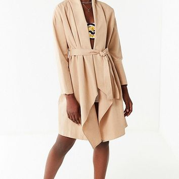 UO Sierra Belted Duster Coat | Urban Outfitters