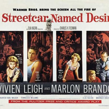 A Streetcar Named Desire 11x17 Movie Poster (1951)