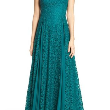 Aidan Mattox Lace Gown | Nordstrom