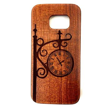 Custom Phone Cases Design Wood Case for Samsung Galaxy S8, S9 Plus and Note 8