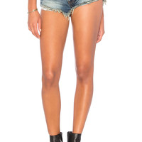 One Teaspoon No 2S Short in Lucky Blue