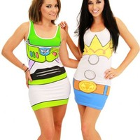Toy Story Juniors Costume Tunic Tank Dress
