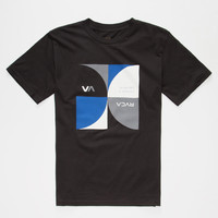 Rvca Ells Boys T-Shirt Black  In Sizes