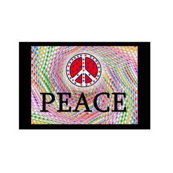 PEACE! SPREAD IT! LAWN SIGN
