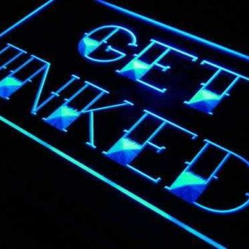 Tattoo Shop Get Inked Neon Sign (LED)