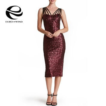 2017 New Summer Sexy Stretch Glitter Sequin Dress with Paillettes Long Bodycon Maxi Party Dresses Women Vestidos EURO SIZE 2XL