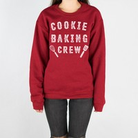 Cookie Baking Crew Crewneck Sweatshirt