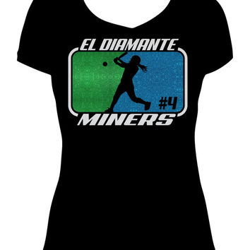 Softball Mom, Softball Tee, Softball Shirt, Softball Mom Shirt, Softball Mom Bling, Softball Mom Tee, Softball Team, Custom Softball